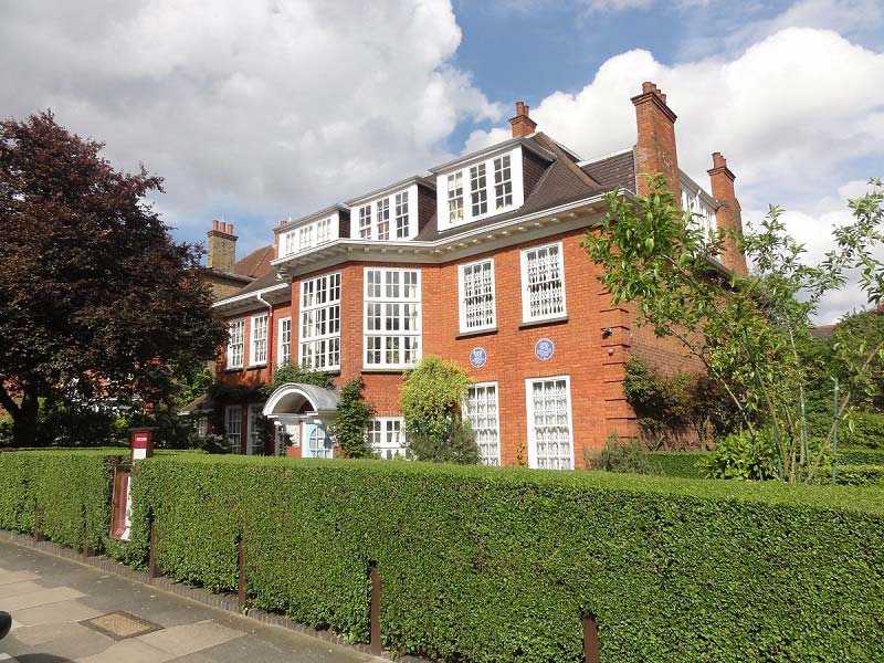 dům Sigmunda Freuda, Londýn, Anglie