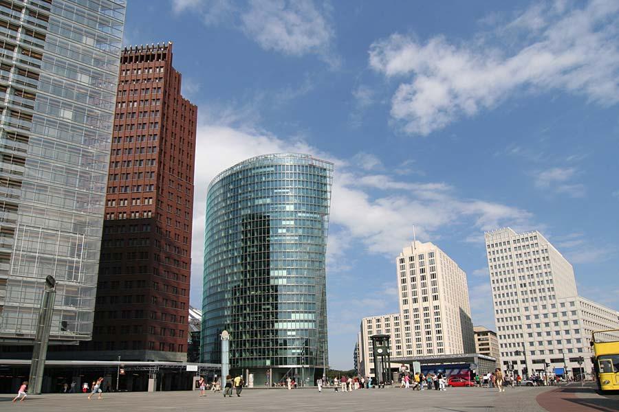 Potsdamer Platz, Berlín, Německo
