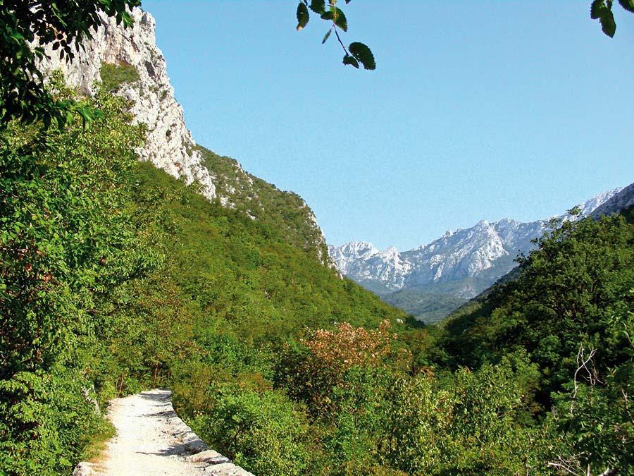 Národní park, Paklenica, Chorvatsko