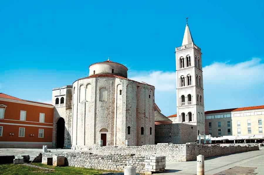 Kostel sv. Donáta, Zadar, Chorvatsko