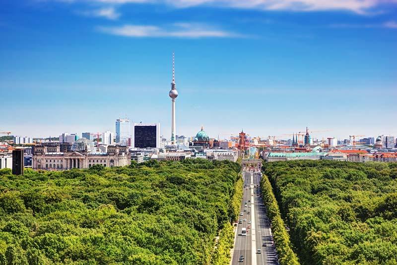 Straße des 17. Juni, Berlín, Německo