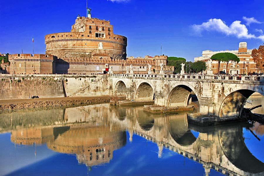 Castel Sant Angelo, Řím, Itálie