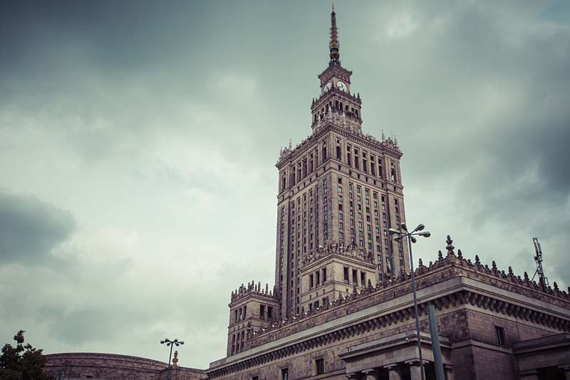 Palac Kultury i Nauki, Warszawa, Polsko