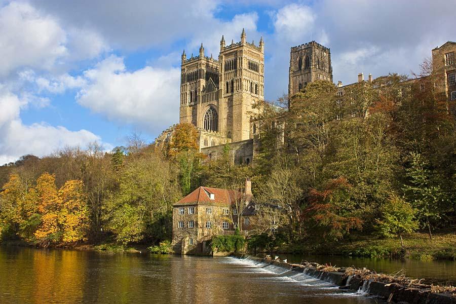 Durham Cathedral, Durham, Anglie