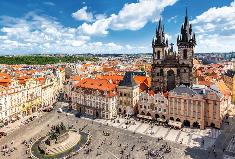 Ceska republika Prague, Staromestske namesti