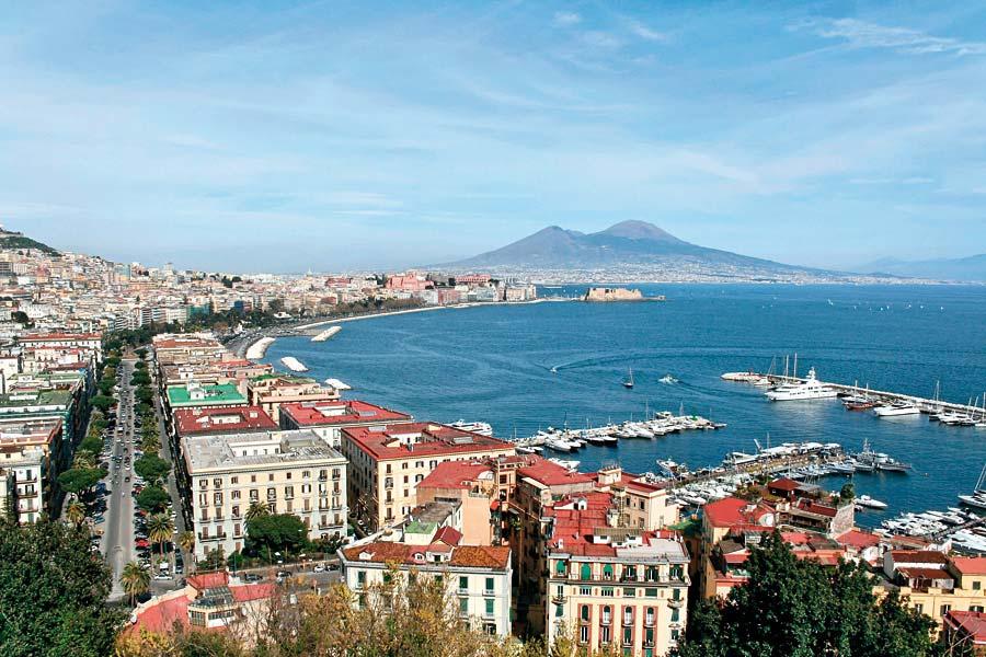 Neapol a Vesuv, Itálie