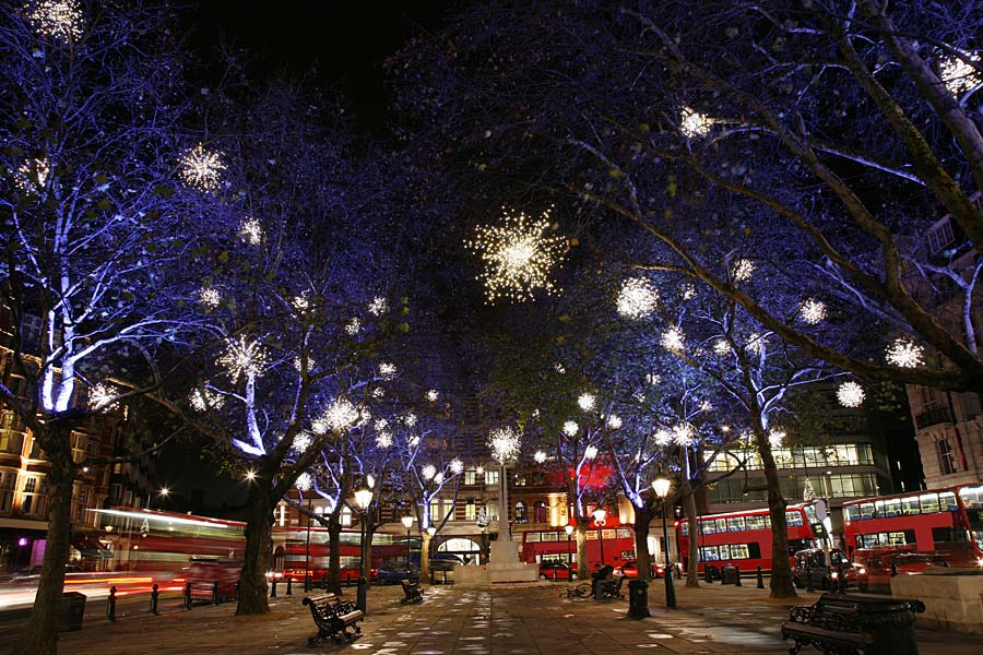 Christmas on Sloane Square, Londýn, Anglie