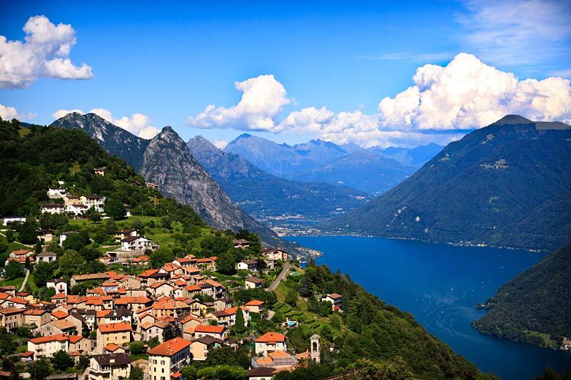 Lugano, Švýcarsko