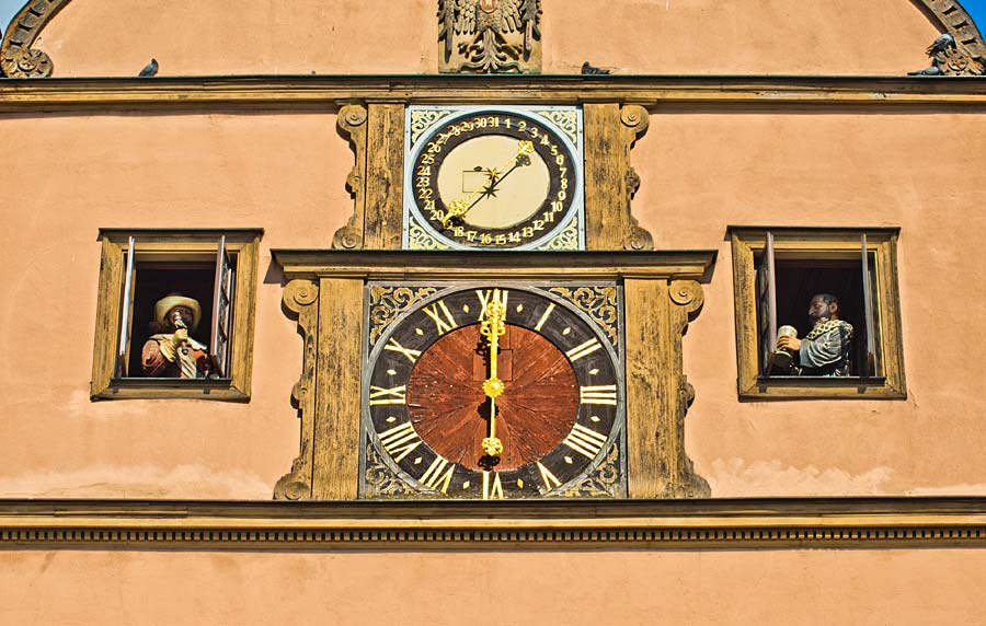 Ratstrinkstube, Rothenburg ob der Tauber, Německo