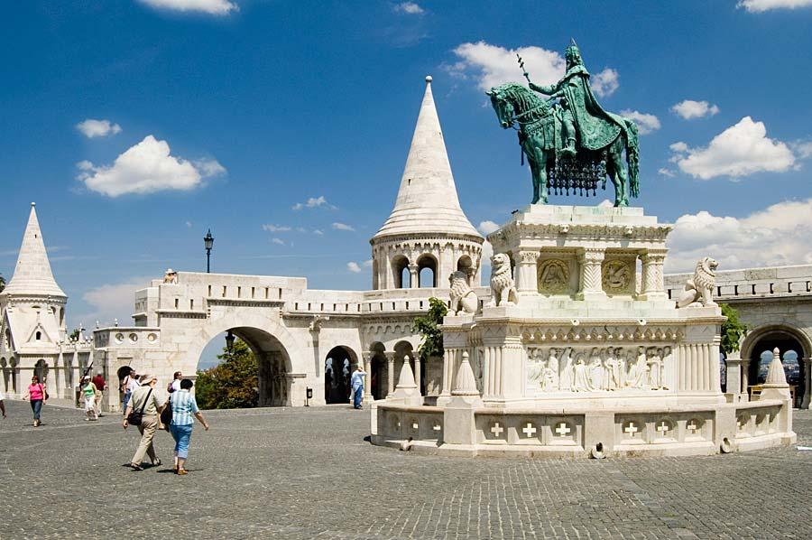 Rybářská bašta, Budapešť, Maďarsko