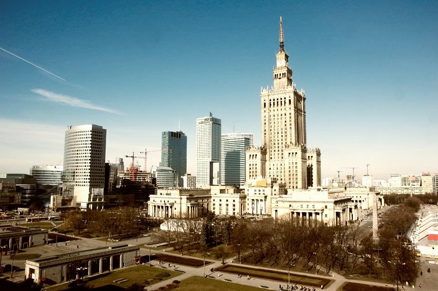 Palac Kultury i Nauki, Warsawa, Polsko