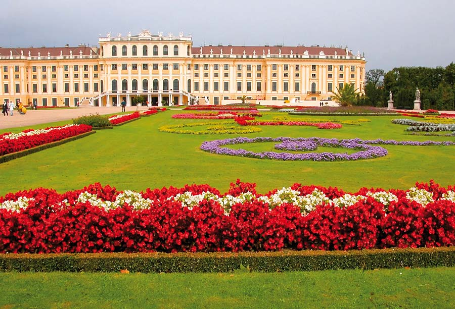 Schönbrunn, Vídeň, Rakousko