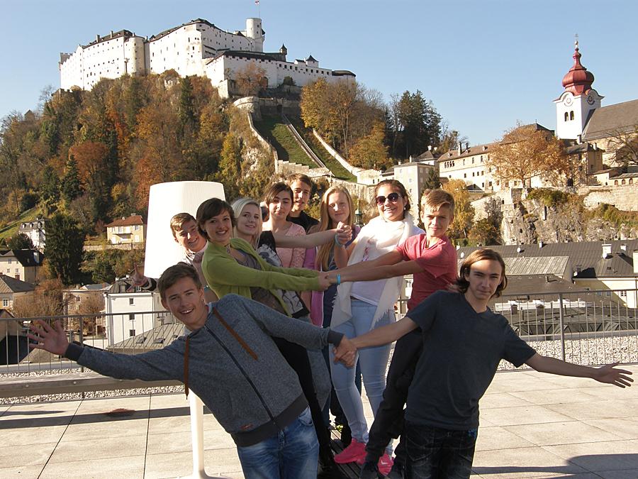 15 ZŠ Kožlany - Salzburg