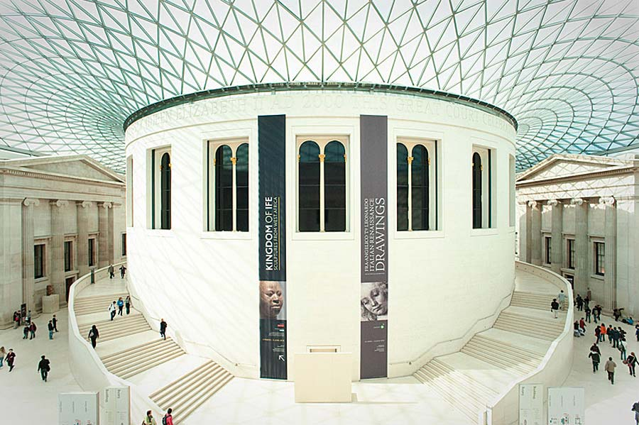 The British Museum, Londýn, Anglie