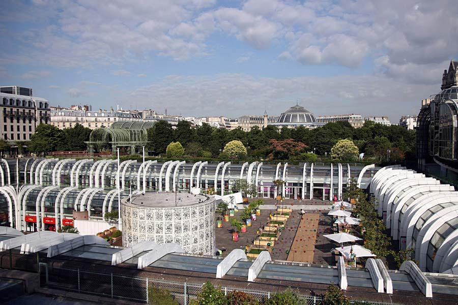 Les Halles, Paříž, Francie