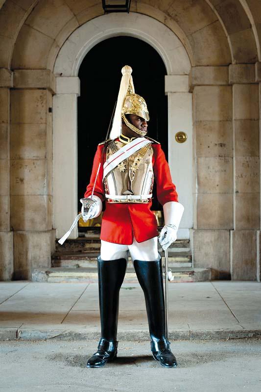 Guard, Londýn, Anglie