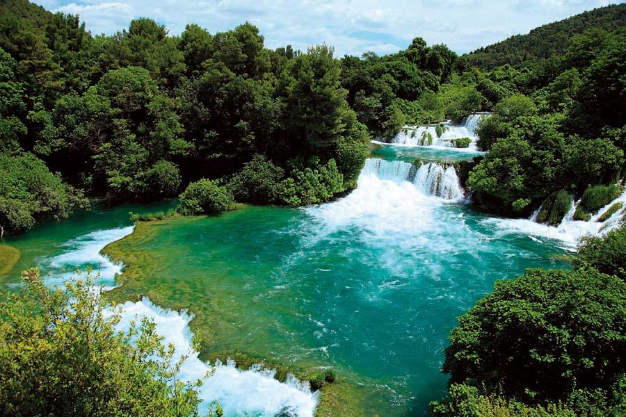 Národní park, Krka, Chorvatsko