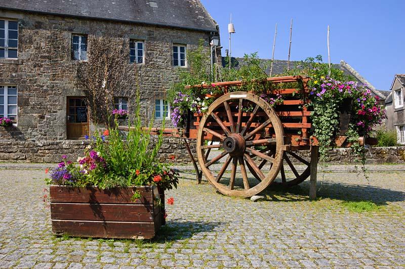 Locronan, Bretagne, Francie