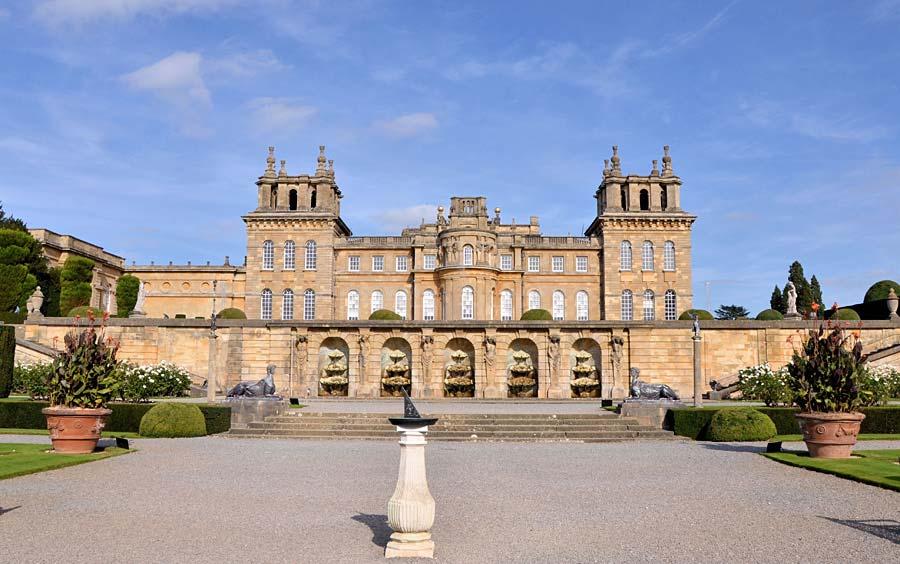 Blenheim Palace, Anglie