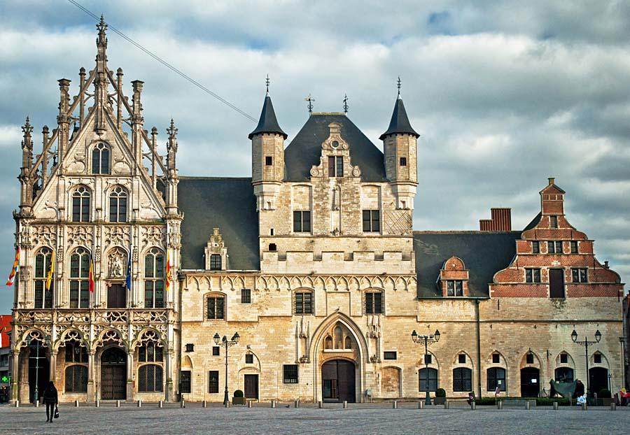 radnice, Mechelen, Belgie