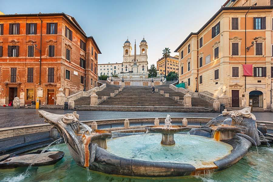 Španělské schody, Řím, Itálie