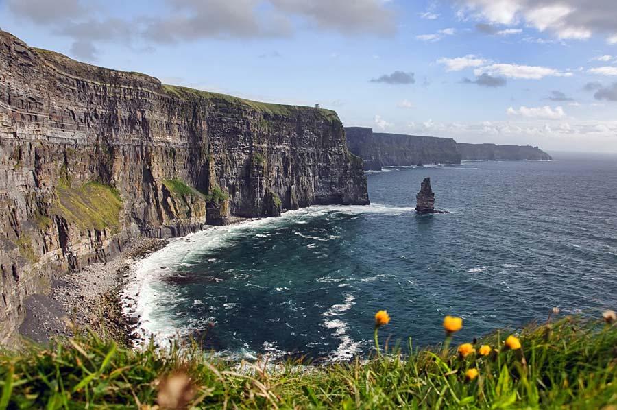 Moherové útesy, Irsko