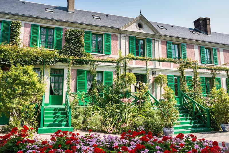 Monetův dům, Giverny, Francie