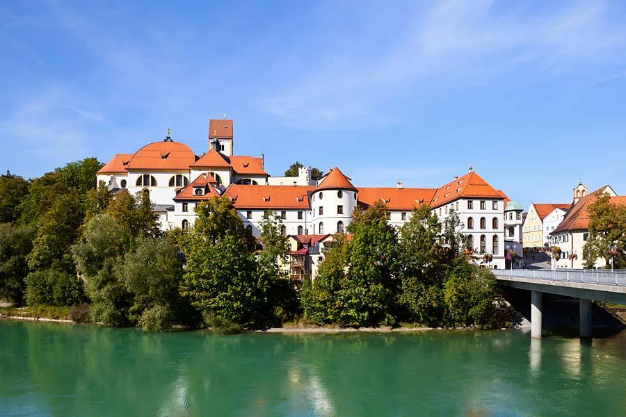 Hohes Schloss, Füssen, Německo