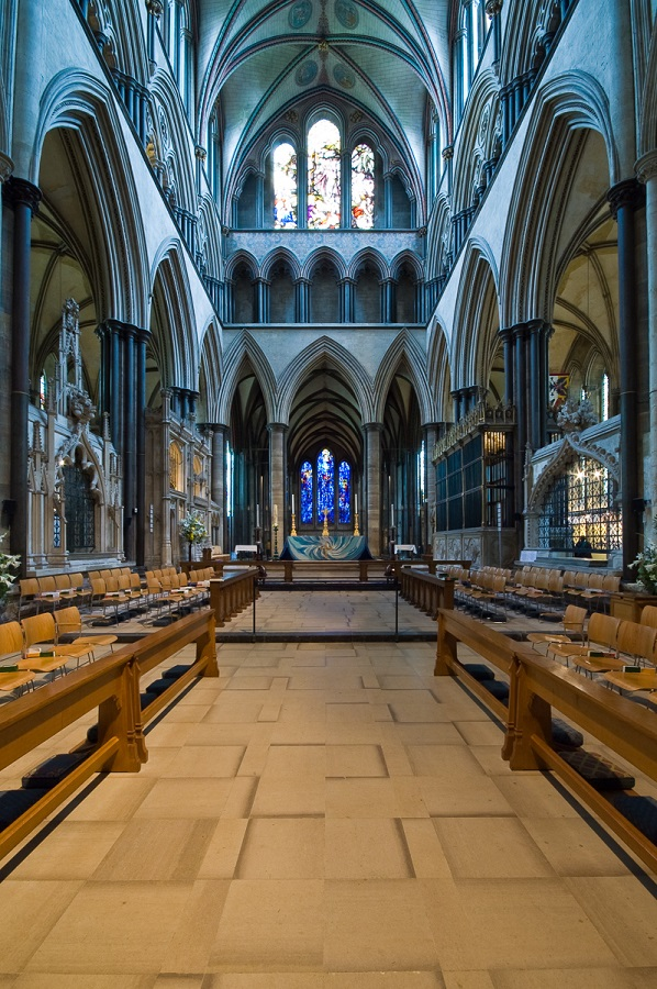 Anglie, Salisbury, Salisbury Cathedral - Trinity Chapel