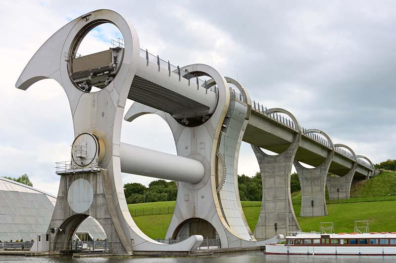 Falkirk Wheel, Skotsko