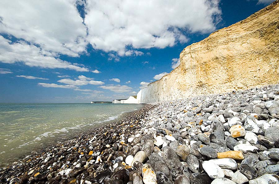 Birling Gap, Beachy Head, Anglie