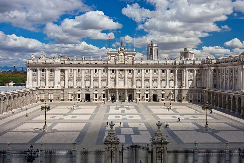 Palacio Real, Madrid, Španělsko