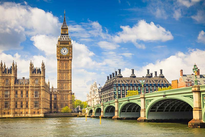 Westminster Bridge, Londýn, Anglie