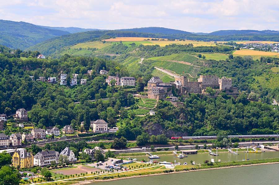 Burg Rheinfels, Sankt Goar, Německo