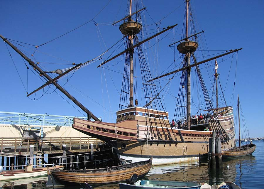Mayflower II, Plymouth, Anglie