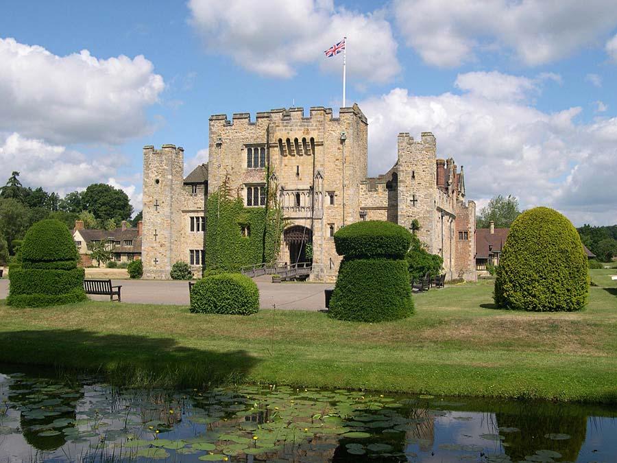 Hever Castle, Anglie