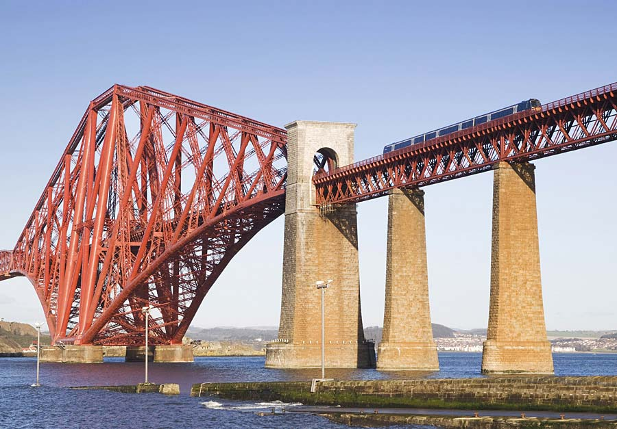 Forth Rail Bridge, Skotsko