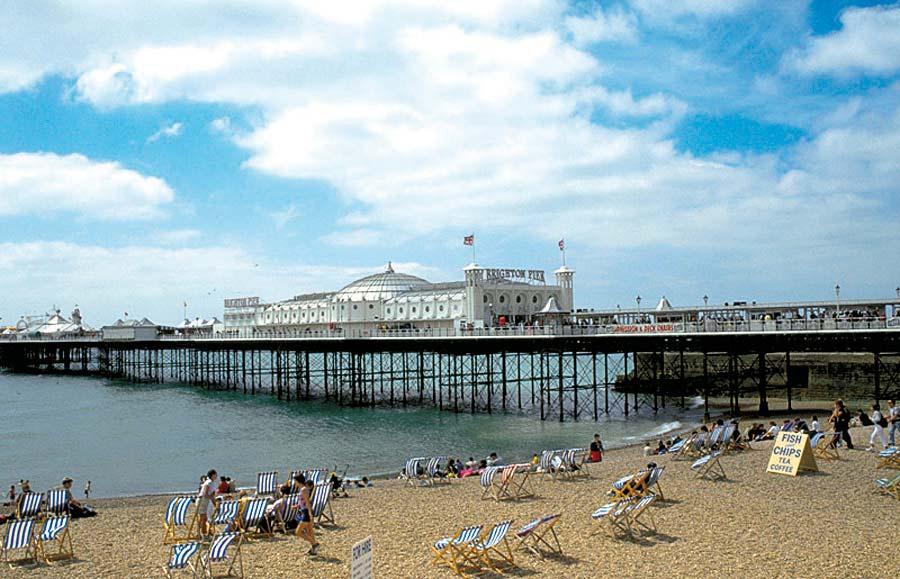Brighton Pier, Brighton, Anglie
