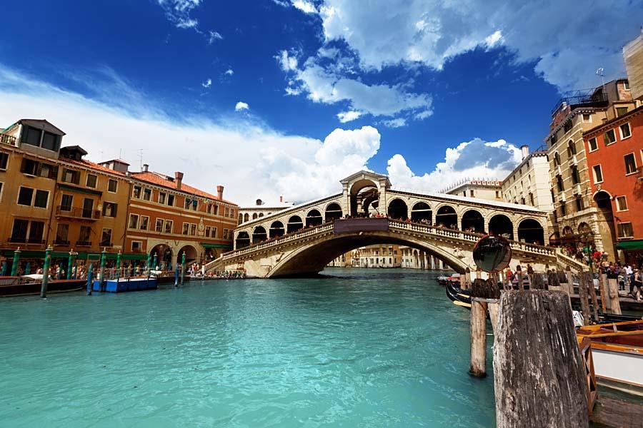 Ponte di Rialto, Benátky, Itálie