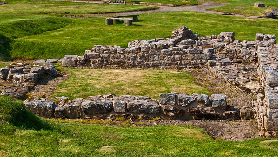 Housesteads, Hadrian´s Wall, Anglie