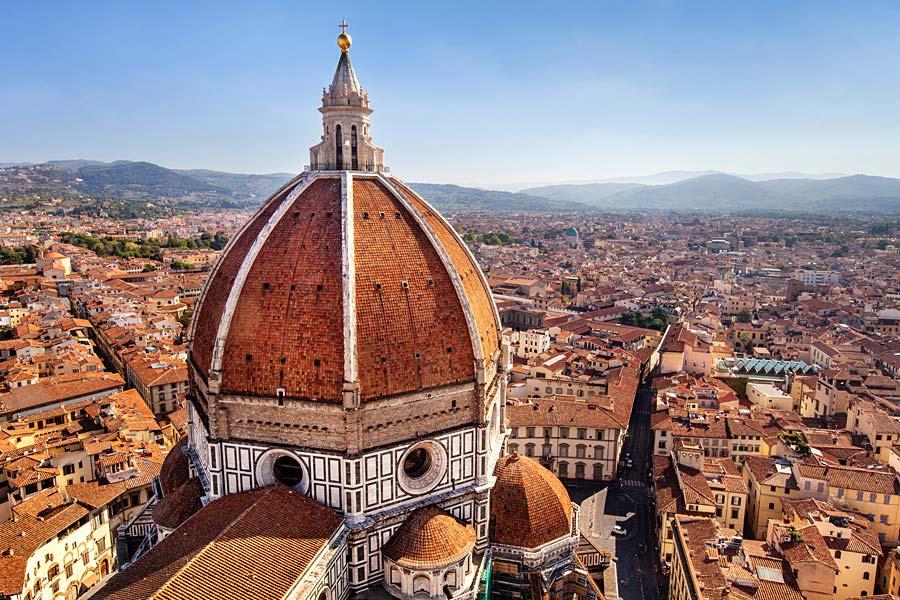 Florencie, Řím