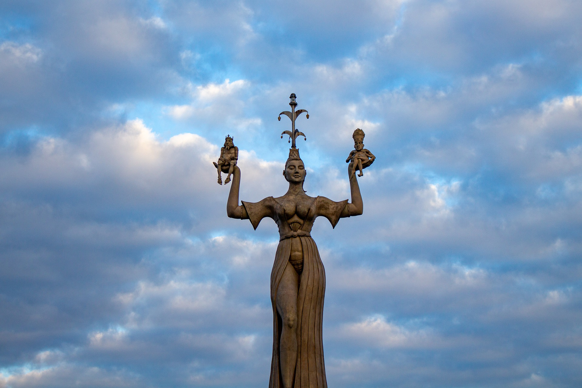 Německo Konstanz, socha Imperie