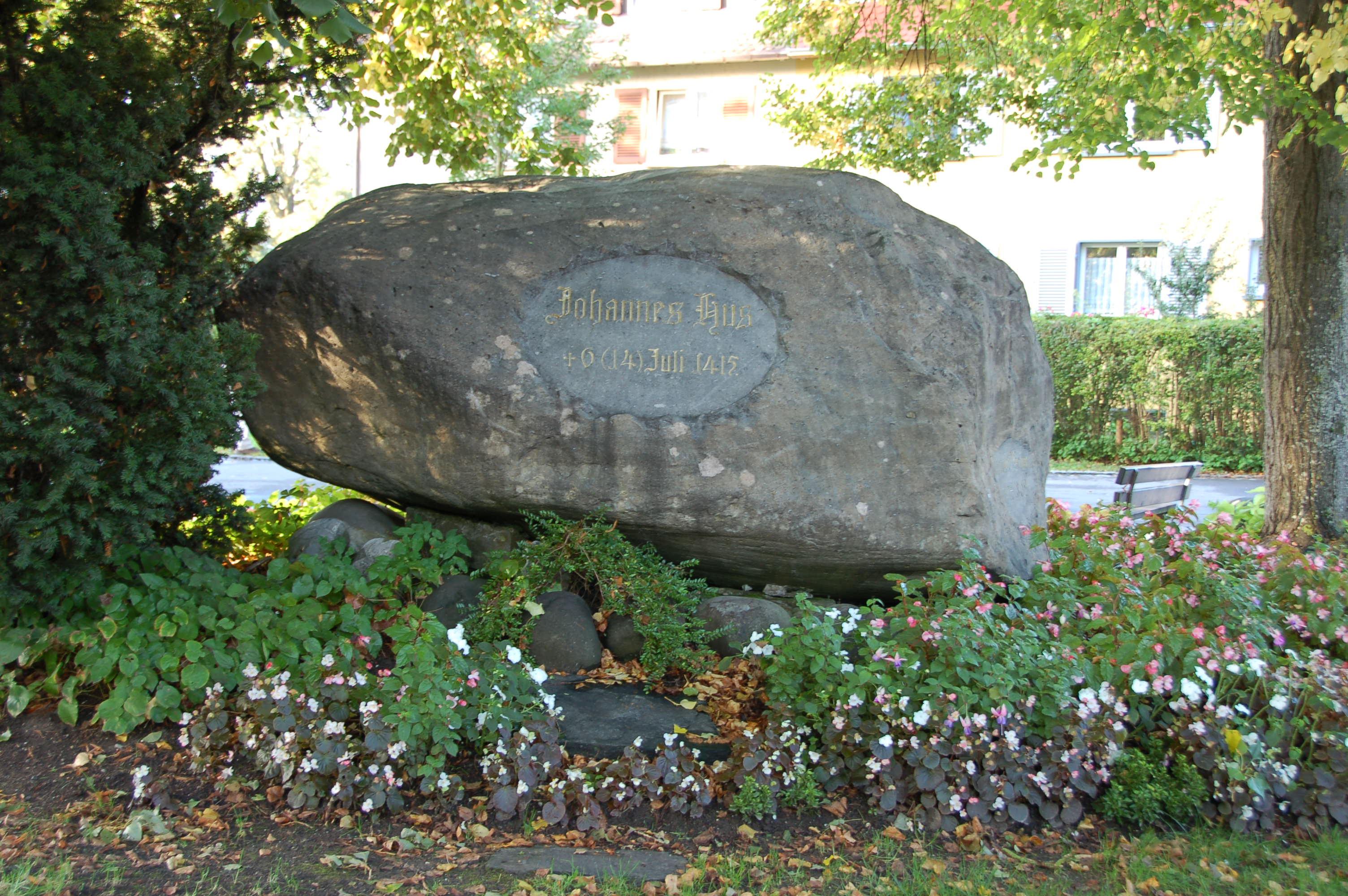 Německo Konstanz, Husův kámen