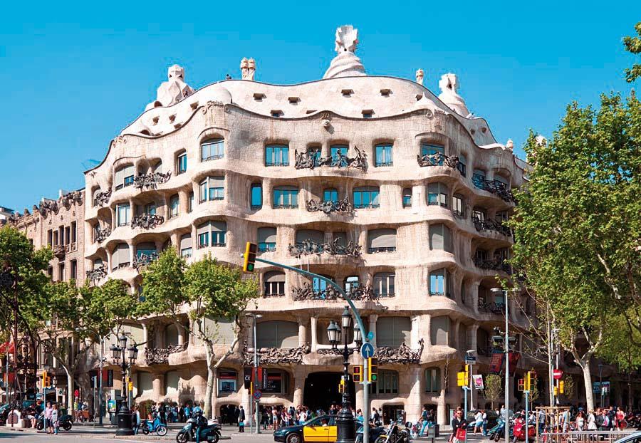 La Pedrera, Barcelona, Španělsko
