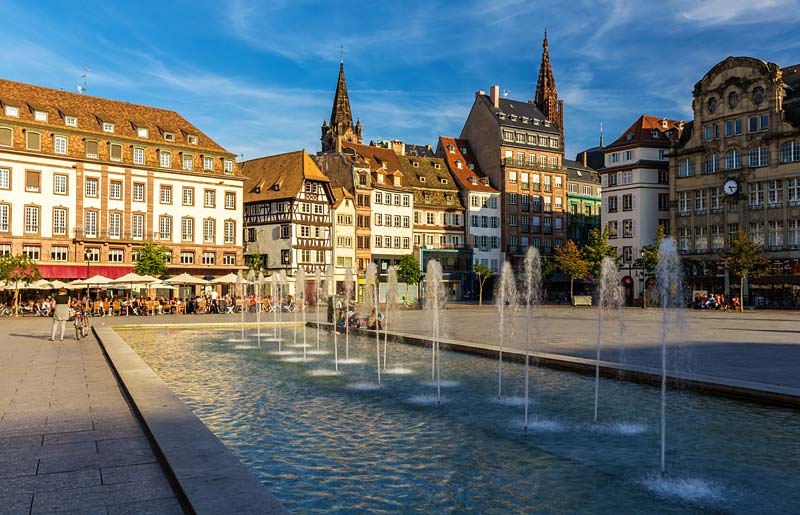 Place Kleber, Strasbourg, Francie