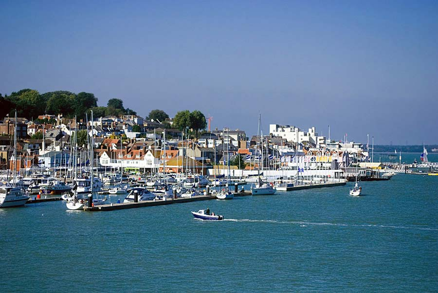 Cowes, Isle of Wight, Anglie