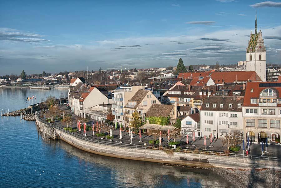 Friedrichshafen, Bodensee, Německo