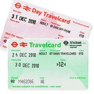 Travelcard pro MHD Londýn