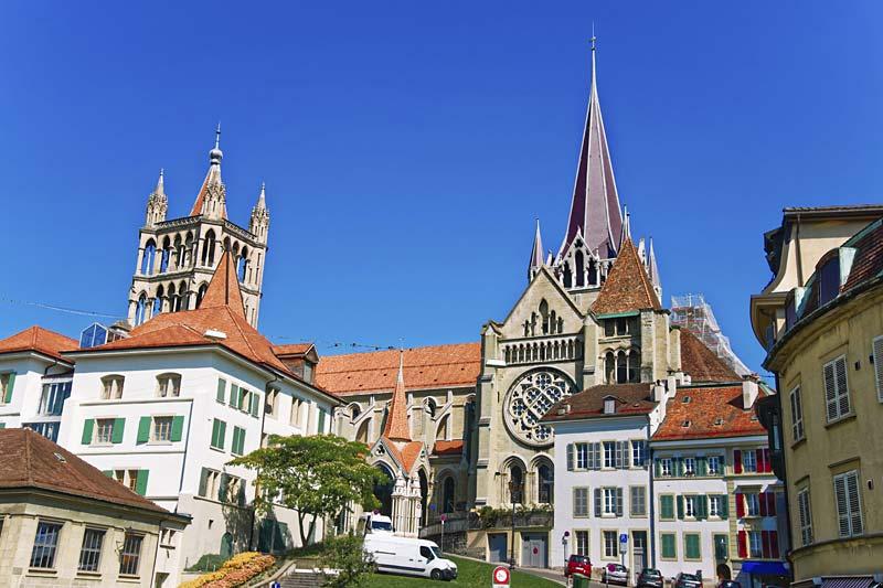 katedrála Notre Dame, Lausanne, Švýcarsko