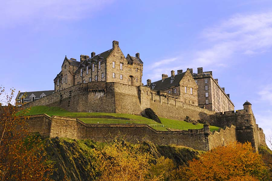 Edinburgh Castle, Skotsko